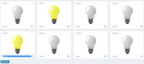 ARC - ovládání světel
